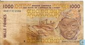 West Afr. Stat. 1000 Francs K