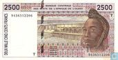 West Afr Stat. T 2500 Francs (Copy) (Copy) (Copy) (Copy) (Copy)