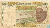 West Afr Stat. 500 Francs K(Copy) (Copy)