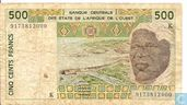 West Afr Stat. 500 Francs K(Copy) (Copy) (Copy)