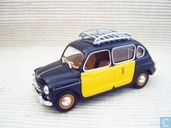 Seat 800 (Fiat 600) Taxi Barcelona
