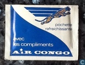 Air Congo verfrissingsdoekje