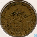 Central African States 10 francs 1974