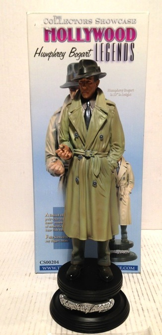 Humphrey Bogart  - The Collectors Showcase - Hoogte 35 cm - Beeld - Limited Edition 500 stuks