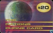 The Nations Phone card