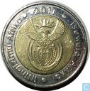 "Südafrika 5 Rand 2011 ""90th Anniversary of the South African Reserve Bank"""