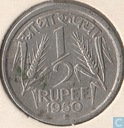 India ½ rupee 1950 (Bombay)