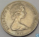 "Solomon Islands 10 cents 1977 ""Ngorieru"""