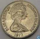 Solomon Islands 20 cents 1977
