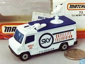 TV News Truck Sky Satellite Television