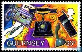 Timbres-poste - Guernesey - Communication