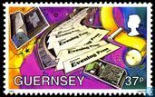 Postage Stamps - Guernsey - Communication