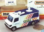 TV news truck 'Rock TV'