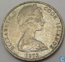 Cookeilanden 5 cents 1972