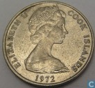 Cookeilanden 10 cents 1972