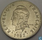 French Polynesia 50 francs 1982