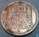 France 10 francs 1947 (B - small head)