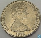 Cook Islands 50 Cent 1972