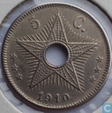 The Belgian Congo  5 centimes 1910