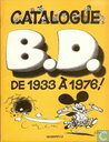 Catalogue B.D. de 1933 à 1976!