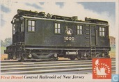 First Diesel, Central Railroad of New Jersey