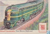 Diesel Locomotive, New Haven Railroad