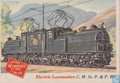 Electric Locomotive, C. M. St. P. & P. RR
