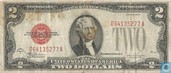 United States $ 2 1928 (United States Note, red seal)