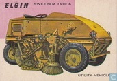 Elgin sweeper truck