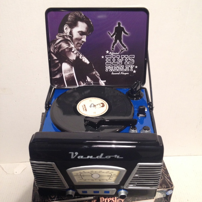 Elvis Presley 'Record Player' Cookie Jar
