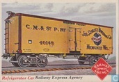 Refrigerator Car, Railway Express Agency