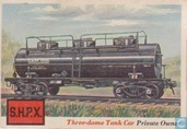Three-dome Tank Car, Private Owner