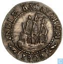 Dutch East Indies 1/8 scheepjesgulden 1802