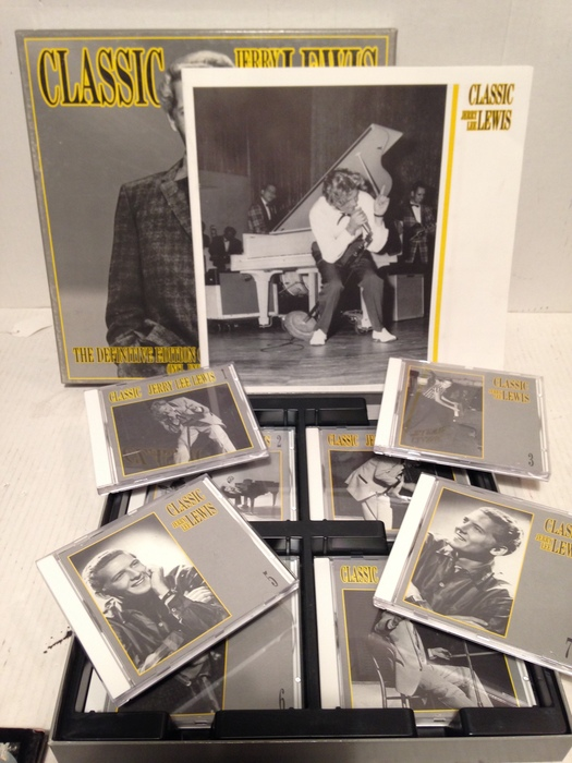 Jerry Lee Lewis Classic 8 CD Box + Book