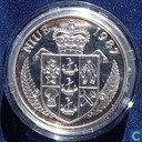 "Niue 50 dollars 1987 (PROOF) ""24th Olympiad Tennis Games - Seoul 1988 - Boris Becker"""