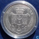 "Niue 5 dollars 1988 ""24th Olympic Games - Seoul 1988 - Tennis"""