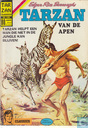 Comic Books - Tarzan of the Apes - Tarzan helpt een man die niet in de jungle kan blijven!