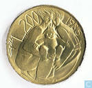 """San Marino 200 Lire 1985 """"Redemption from drugs"""""""