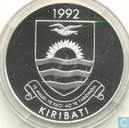 "Kiribati 20 dollars 1992 (PROOF) "" Olympic Games 1992"""