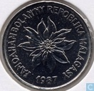 Madagaskar 2 francs 1987
