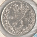 United Kingdom 3 pence 1887