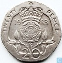 United Kingdom 20 pence 1983