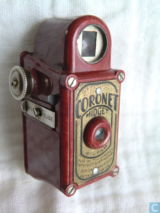 Who else coronet midget camera with