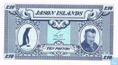 Jason Islands 10 pounds 1979 UNC