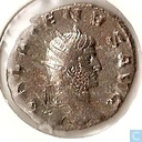 Roman Empire Antoninianus of emperor Gallienus 260-268 n.Chr