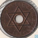 Brits-West-Afrika 1 penny 1958 (KN)