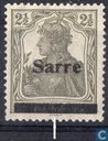 Germania printed Sarre