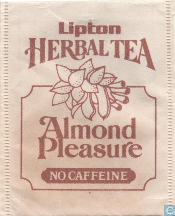 Almond pleasure tea foto