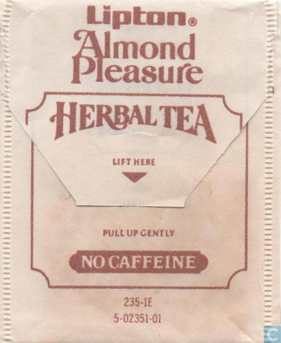 Almond pleasure tea foto 674
