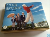 Club Sports Playing Cards